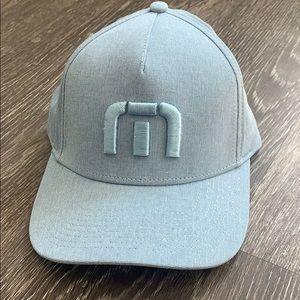 Travis Mathew light blue golf hat